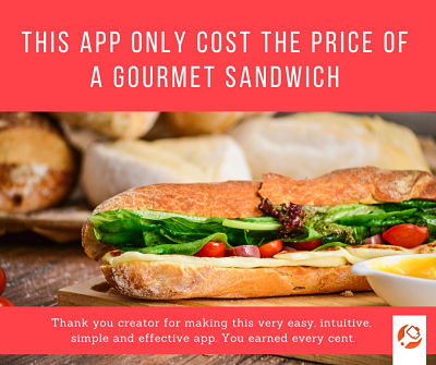 MP4Fix Premium Features_you_pay_just-once - Google Play review: this_app_only_cost_the_price_of_gourment_sandwich